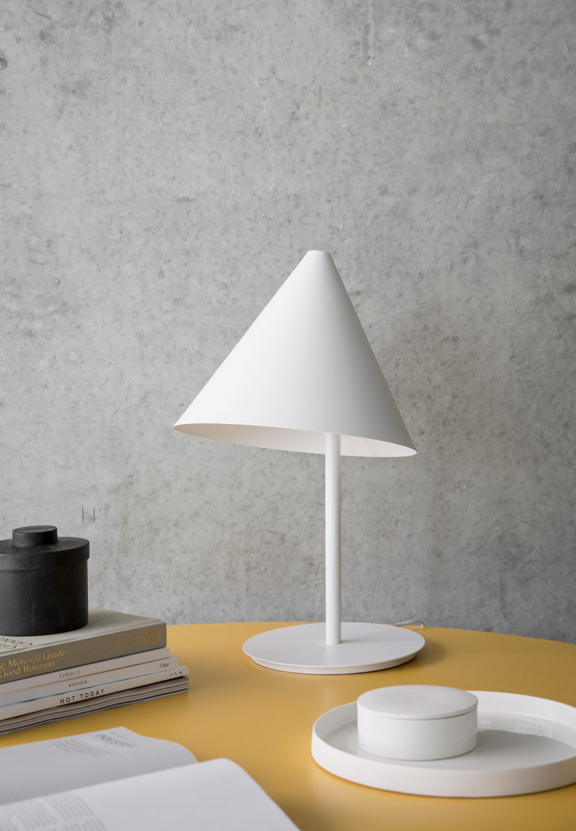 Conic lamp menu design thomas bentzen